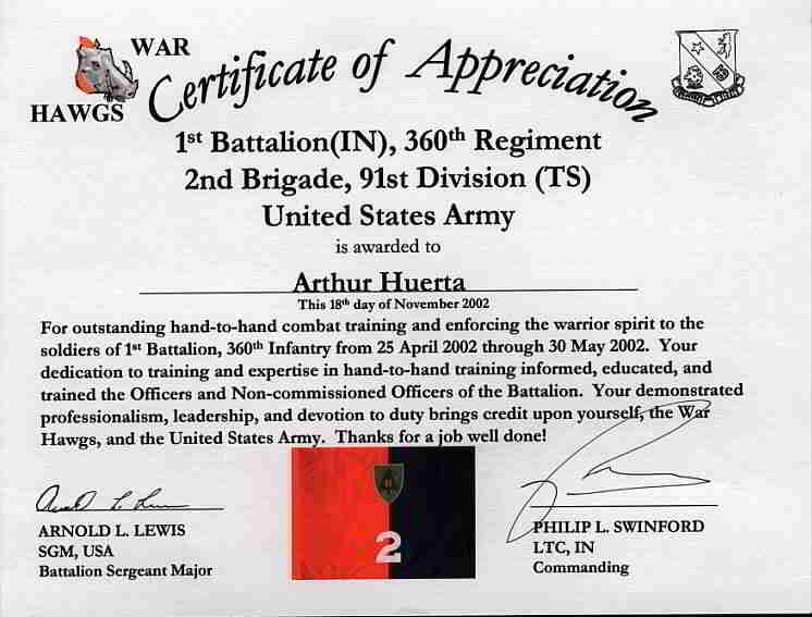 Beautiful Army Certificate Of Appreciation Example Regarding Army Certificate Of Appreciation
